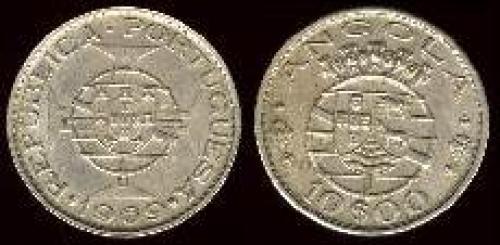 10 escudos; Year: 1969-1970; (km 79)