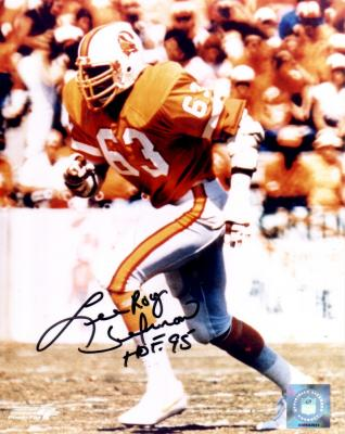 Lee Roy Selmon autographed Tampa Bay Buccaneers 8x10 photo