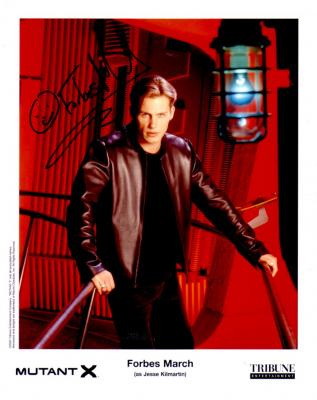 Forbes March autographed 8x10 Mutant X photo