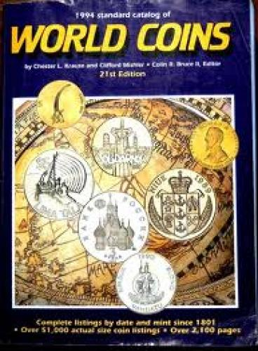 1994 World Coins Catalog