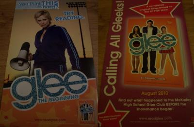 Glee 2010 Comic-Con 2 sided promo poster (Jane Lynch)