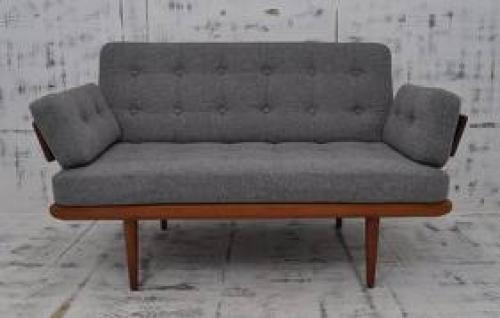Antiques; 1970s_Finn_Juhl_Danish_2_Seater Sofa