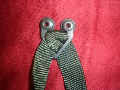 MBU-3/p oxygen mask straps, 2