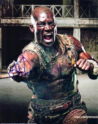 Peter Mensah autographed Spartacus 8x10 photo