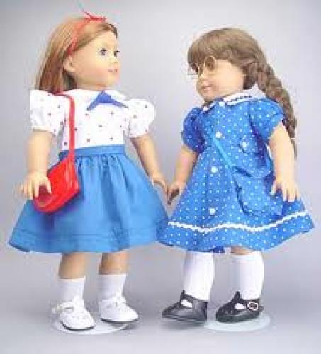 Dolls; American Girl and Gotz Doll 1940's Dresses