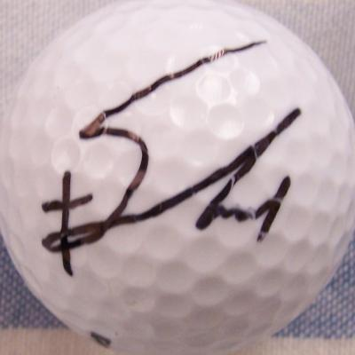 Jiyai Shin autographed golf ball