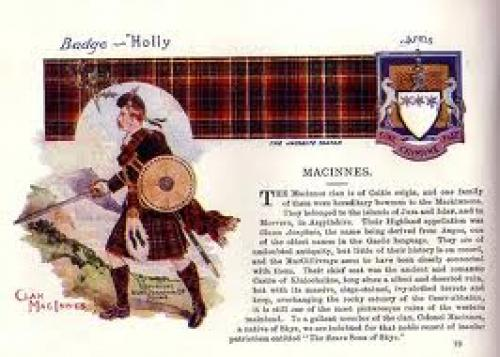 Tartans of ScotlandClan Postcard