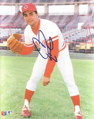 John Franco autographed 8x10 Cincinnati Reds photo