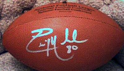 Eric Moulds autographed NFL replica football