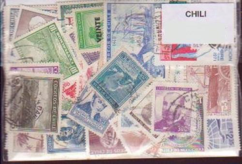 16 Chile All Different Stamps