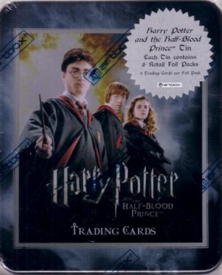 Harry Potter and the Half-Blood Prince ArtBox collector tin with exclusive card
