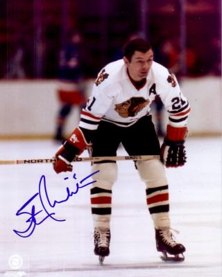 Stan Mikita autographed 8x10 Chicago Blackhawks photo