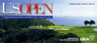 2008 U.S. Open Sunday pairings guide (Tiger Woods wins 14th major)