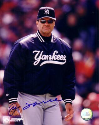 Joe Torre autographed New York Yankees 8x10 photo