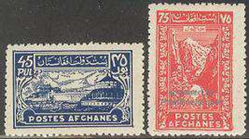 Definitives 2v; Year: 1934