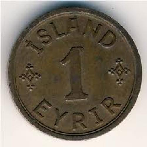 Coins;  Iceland, 1 eyrir, 19401942 