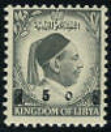 Overprint 1v; Year: 1955