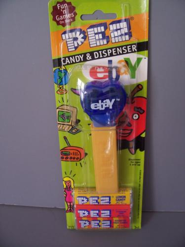 Ebay PEZ Dispenser set of 4