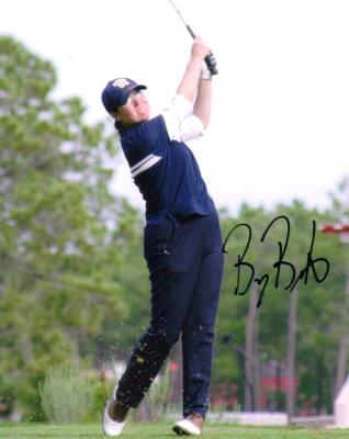 Becky Brewerton autographed 8x10 golf photo