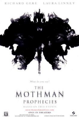 The Mothman Prophecies movie 4x6 promo card