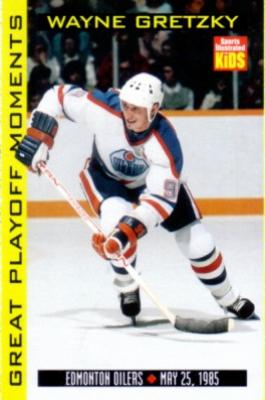 Wayne Gretzky 1998 Sports Illustrated for Kids card