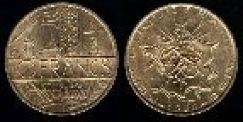 10 francs; Year: 1974-1987; (km 940)