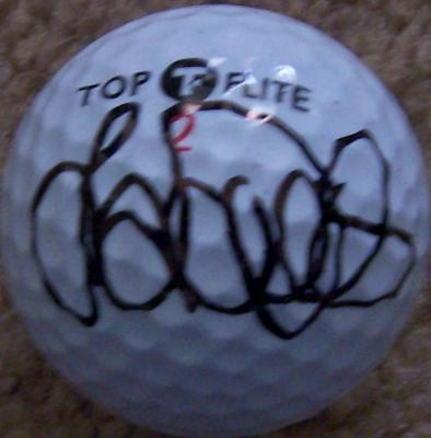 Laura Davies autographed Top Flite golf ball