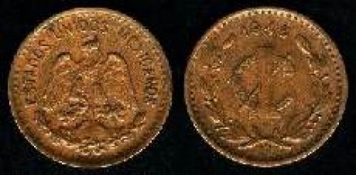 1 Centavo 1905-1949 (km 415); 20 mm