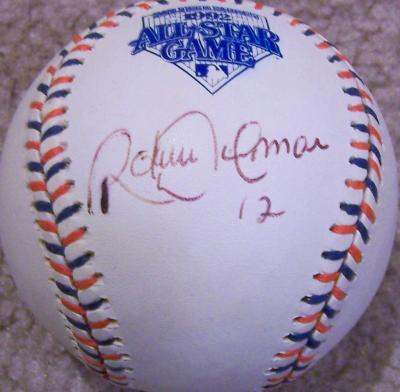 Roberto Alomar autographed 1992 All-Star Game baseball