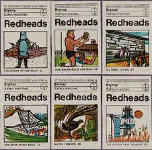 Matchboxes; Redheads collection