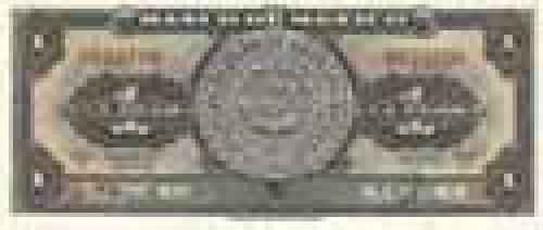 1 Peso; Older banknotes of Mexico
