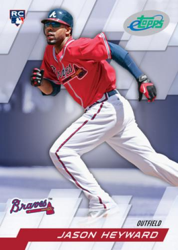 2010 eTopps #14 ~ Jason Heyward /1499 * IN HAND