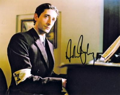 Adrien Brody autographed The Pianist 8x10 photo