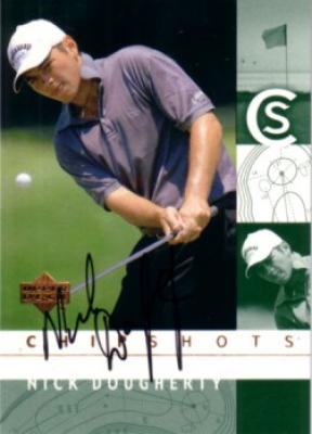 Nick Dougherty autographed 2002 Upper Deck Rookie Card card