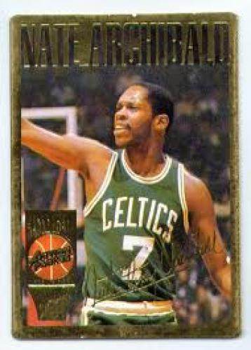 Basketball Card; Nate Archibald Basketball Card; Celtics