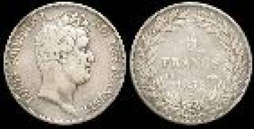 5 francs; Year: 1830-1831; (km 735)