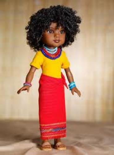 Dolls; Rahel, the Ethiopian doll-African