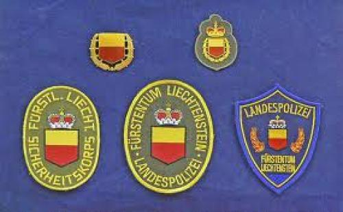 Patches; Principality of Liechtenstein National Police Badge &amp; Patches