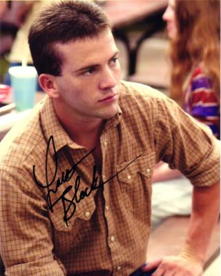 Lucas Black autographed 8x10 portrait photo
