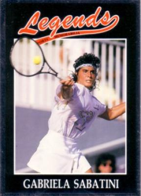 Gabriela Sabatini 1991 Legends card
