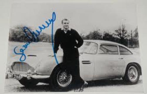 AUTOGRAPH – SEAN CONNERY. Sean Connery – James Bond Original