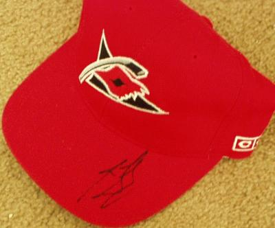 Ron Francis autographed Carolina Hurricanes cap or hat