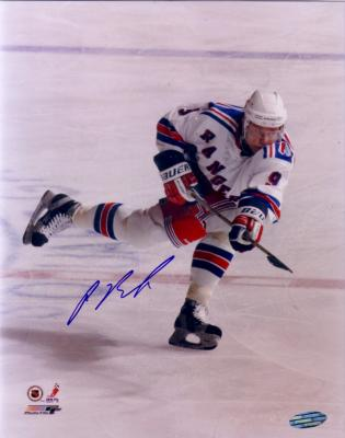 Pavel Bure autographed New York Rangers 8x10 photo