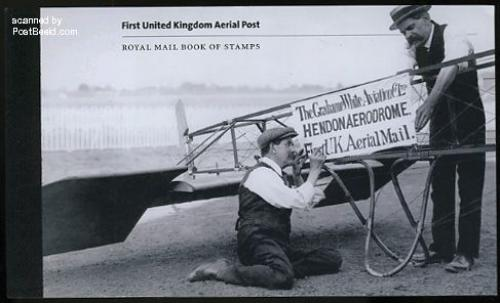 100 Years airmail prestige booklet