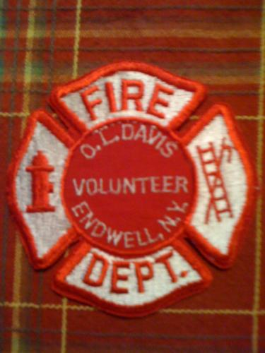 Old Endwell New York Fire patch