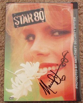 Mariel Hemingway autographed Star 80 DVD