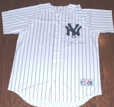 Mariano Rivera autographed New York Yankees authentic jersey (Steiner)