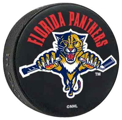 Florida Panthers logo puck