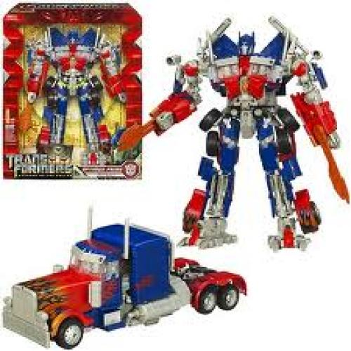 Optimus Prime Toy; Transformer Movie