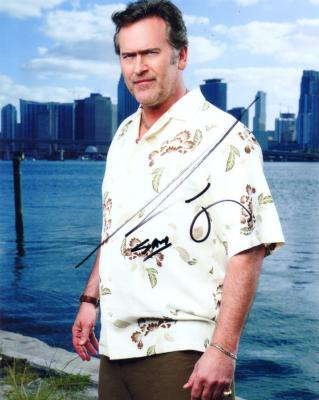 Bruce Campbell autographed Burn Notice 8x10 photo